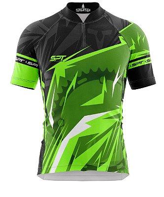 Camisa de Ciclismo Manga Curta Proteção Solar FPU 50+ Marca Spartan Coleção W Ref. 21