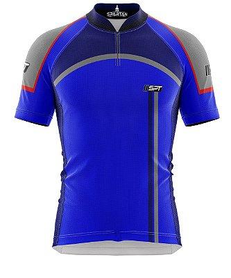 Camisa de Ciclismo Manga Curta Proteção Solar FPU 50+ Marca Spartan Coleção W Ref. 22