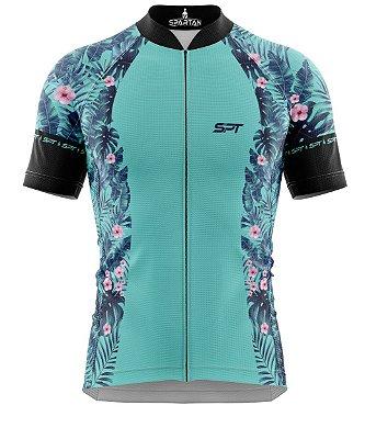 Camisa de Ciclismo Manga Curta Proteção Solar FPU 50+ Marca Spartan Coleção W Ref. 26