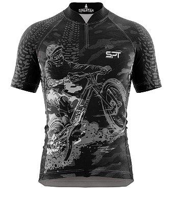 Camisa de Ciclismo Manga Curta Proteção Solar FPU 50+ Marca Spartan Coleção W Ref. 29