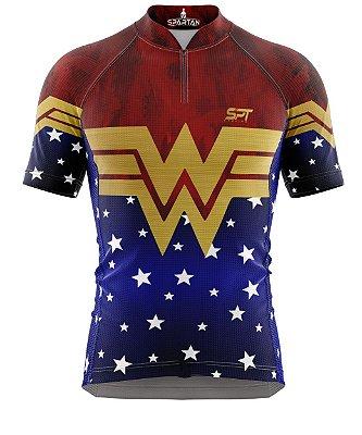 Camisa de Ciclismo Manga Curta Proteção Solar FPU 50+ Marca Spartan Coleção New Ref. 02
