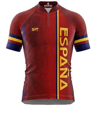 Camisa de Ciclismo Manga Curta Proteção Solar FPU 50+ Marca Spartan Coleção New Ref. 03