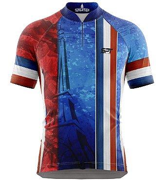 Camisa de Ciclismo Manga Curta Proteção Solar FPU 50+ Marca Spartan Coleção New Ref. 05