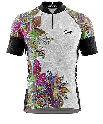 Camisa de Ciclismo Manga Curta Proteção Solar FPU 50+ Marca Spartan Coleção New Ref. 07