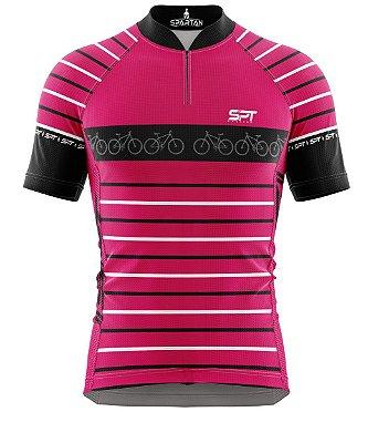 Camisa de Ciclismo Manga Curta Proteção Solar FPU 50+ Marca Spartan Coleção New Ref. 08