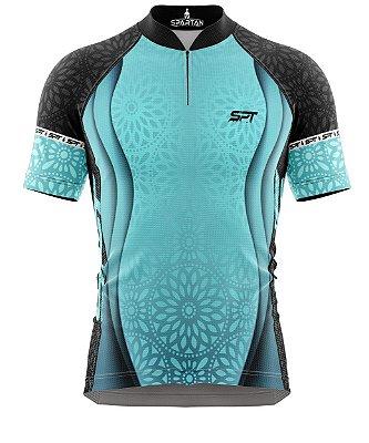 Camisa de Ciclismo Manga Curta Proteção Solar FPU 50+ Marca Spartan Coleção New Ref. 12