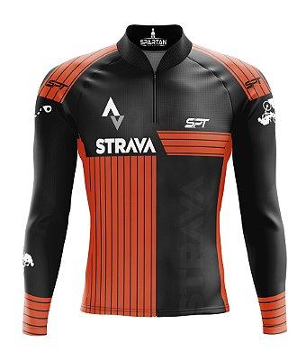 Camisa de Ciclismo Manga Longa Proteção Solar FPU 50+ Marca Spartan Coleção New Ref. 02.1