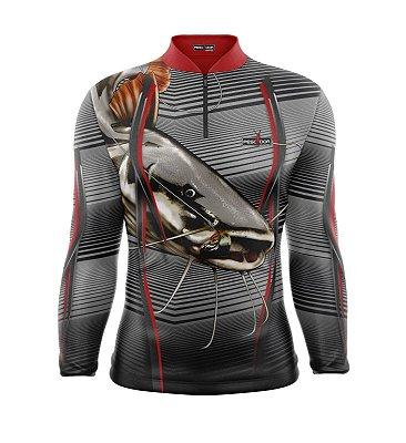 Camisa de Pesca Manga Longa Proteção Solar FPU 50+ Marca Pescador Fishing Coleção 2020/2021 Ref. 06
