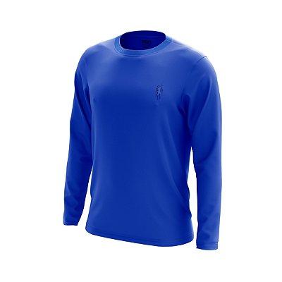 Camisa Segunda Pele Manga Longa Proteção Solar FPU 50+ Marca Pescador – Azul Royal