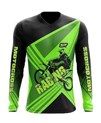 Camisa Motocross Proteção Solar FPU 50+ Spartan Ref. 01