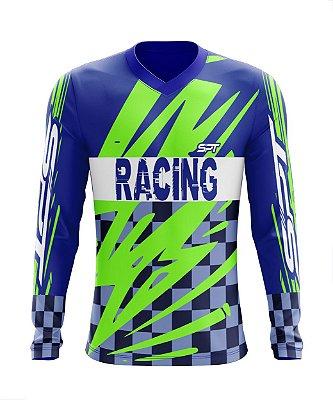 Camisa Motocross Proteção Solar FPU 50+ Spartan Ref. 04
