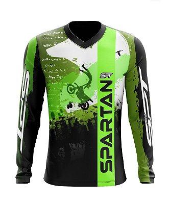 Camisa Motocross Proteção Solar FPU 50+ Spartan Ref. 05