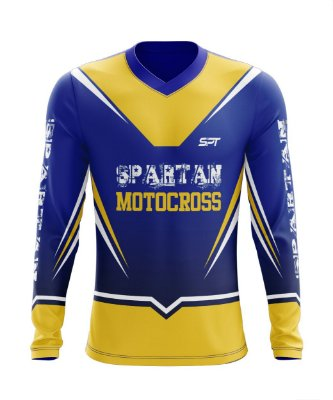 Camisa Motocross Proteção Solar FPU 50+ Spartan Ref. 06