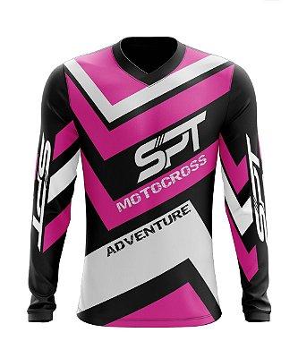 Camisa Motocross Proteção Solar FPU 50+ Spartan Ref. 10