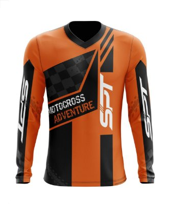 Camisa Motocross Proteção Solar FPU 50+ Spartan Ref. 13