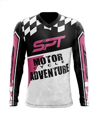 Camisa Motocross Proteção Solar FPU 50+ Spartan Ref. 15