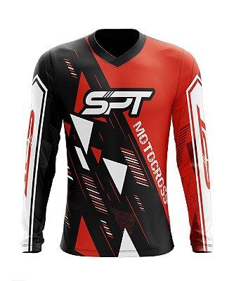 Camisa Motocross Proteção Solar FPU 50+ Spartan Ref. 16