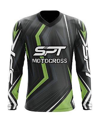Camisa Motocross Proteção Solar FPU 50+ Spartan Ref. 20