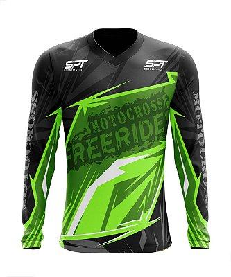 Camisa Motocross Proteção Solar FPU 50+ Spartan Ref. 21