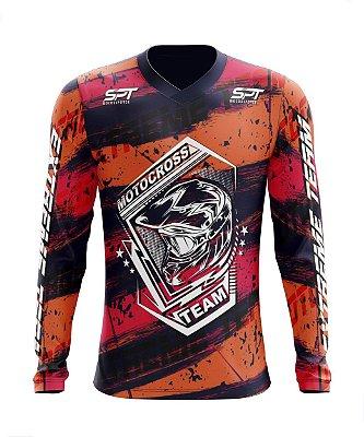 Camisa Motocross Proteção Solar FPU 50+ Spartan Ref. 22