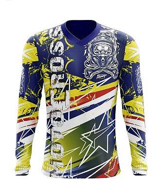 Camisa Motocross Proteção Solar FPU 50+ Spartan Ref. 23