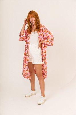 Vestido Kimono Floral
