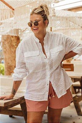 Camisa Branca de Laise Olga