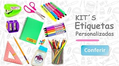 Etiquetas escolares Kit