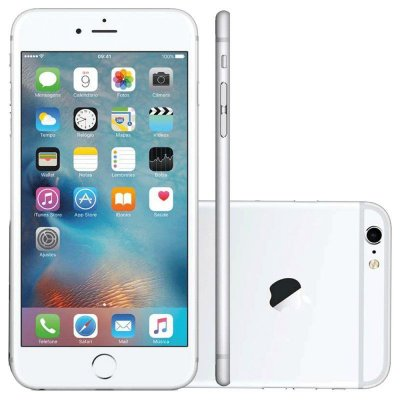 Apple Iphone 6s 16gb Tela 4.7 Novo 1 Ano Garantia