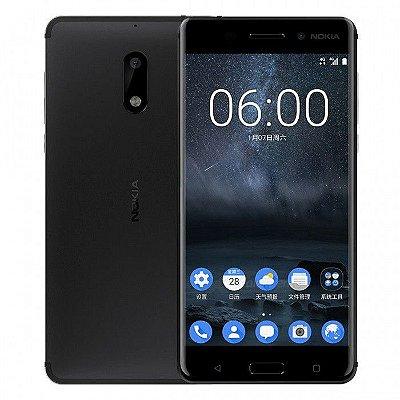 Smartphone Nokia 6 Dual 32gb Original 3gb Ram Novo Tela 5.5