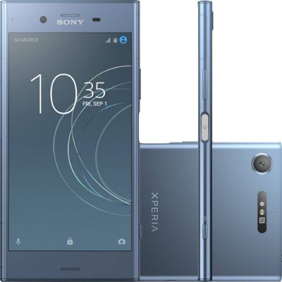 Smartphone Sony Xperia Xz1 4gb/64gb Lte Tela 5.2 - Azul