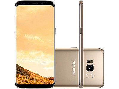 Smartphone Samsung Galaxy S8 64gb 4g Tela 5.8 Dourado