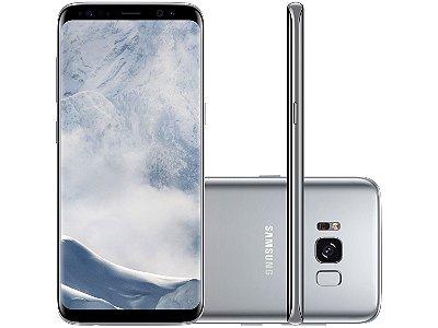 Smartphone Samsung Galaxy S8 64gb 4g Tela 5.8 Prata