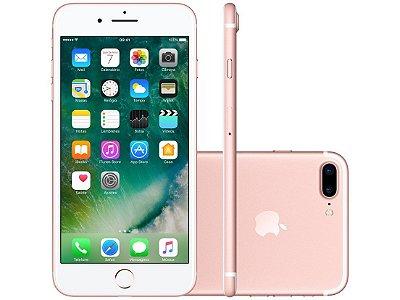 Apple Iphone 7 Plus 128gb Tela Retina Hd 5.5 Ios 10 4g Lte Rosa