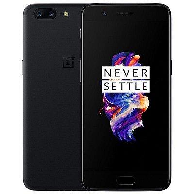 Smartphone Oneplus 5 A5000 Dual 128gb 8ram Black Tela 5.5
