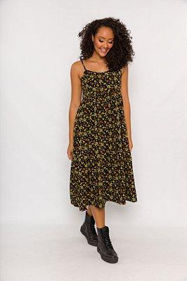 Vestido Ramona Alças Maxi Floral Liberty