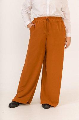 Calça Pantalona Ferrugem