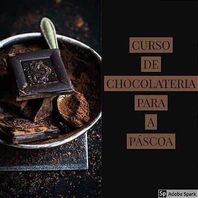 CURSO DE CHOCOLATERIA PARA A PÁSCOA