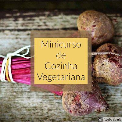 Minicurso de Cozinha Vegetariana