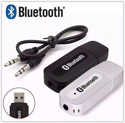 TRANSMISSOR RECEPTOR BLUETOOTH USB ADAPTADOR MUSICA P2 CARRO