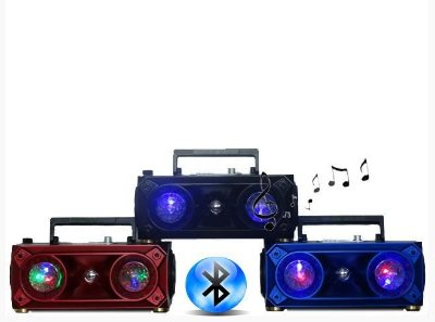 CAIXA DE SOM AMPLIFICADA BLUETOOTH MP3 USB 20W