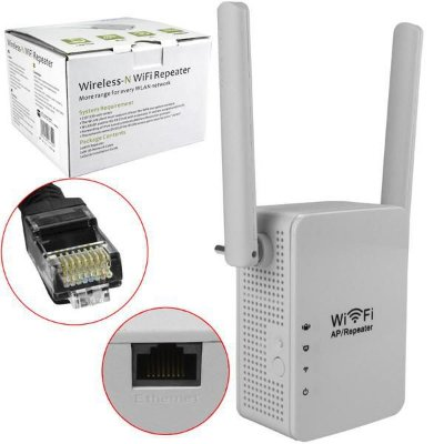 REPETIDOR WIRELESS WI-FI 2 ANT LV-WR13