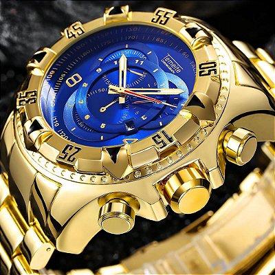 Relógio Dourado Temeite