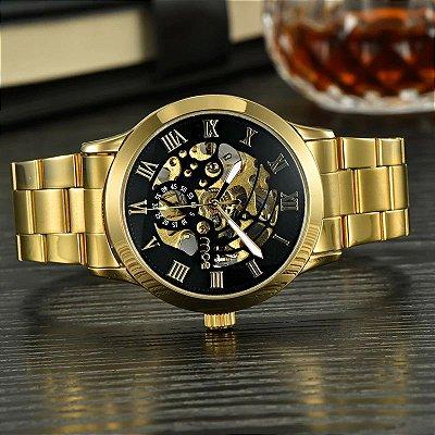 c54f47e694a Relógio Dourado Mce Sport