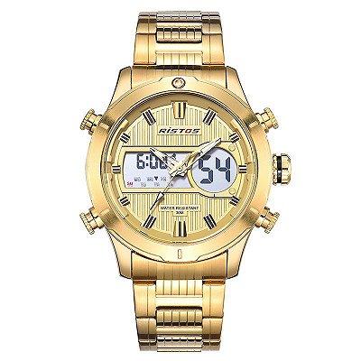 Relógio Dourado Ristos