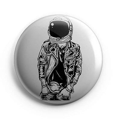 Button Astronalta Hipster