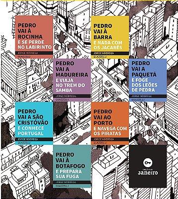 Coleção Pedro fugiu de casa (box com 7 volumes)