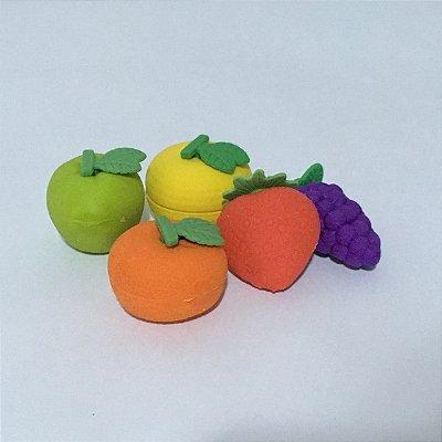 Borracha Escolar Criativa Frutas