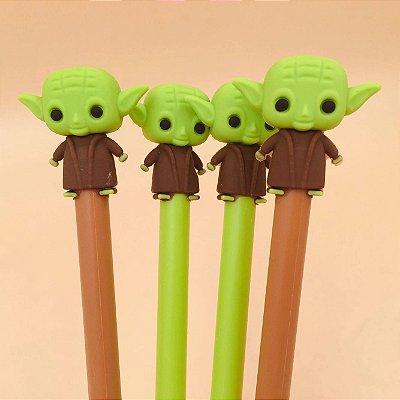 Caneta Em Gel Mestre Yoda