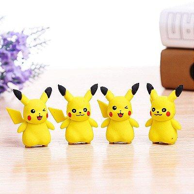 Borracha Escolar Criativa Pikachu